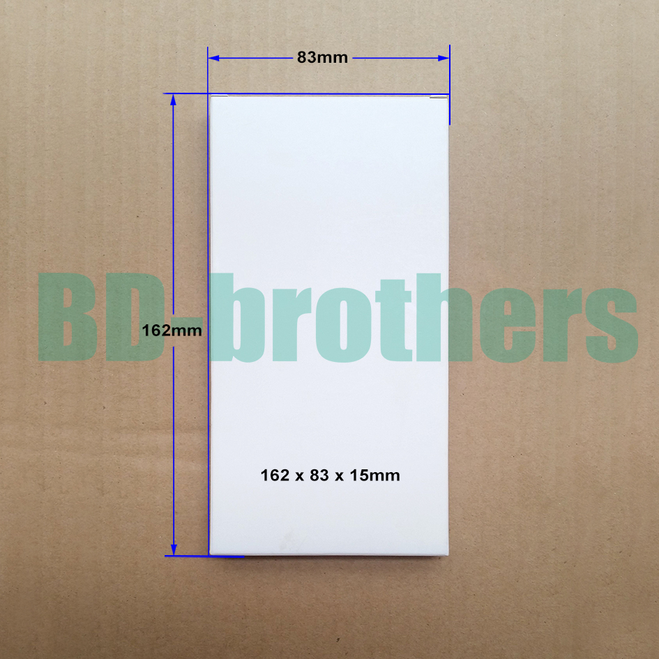 162 x 83 x 15mm Wihte Paper Box for LCD Screen Packing Package Wholesale 1000pcs lot