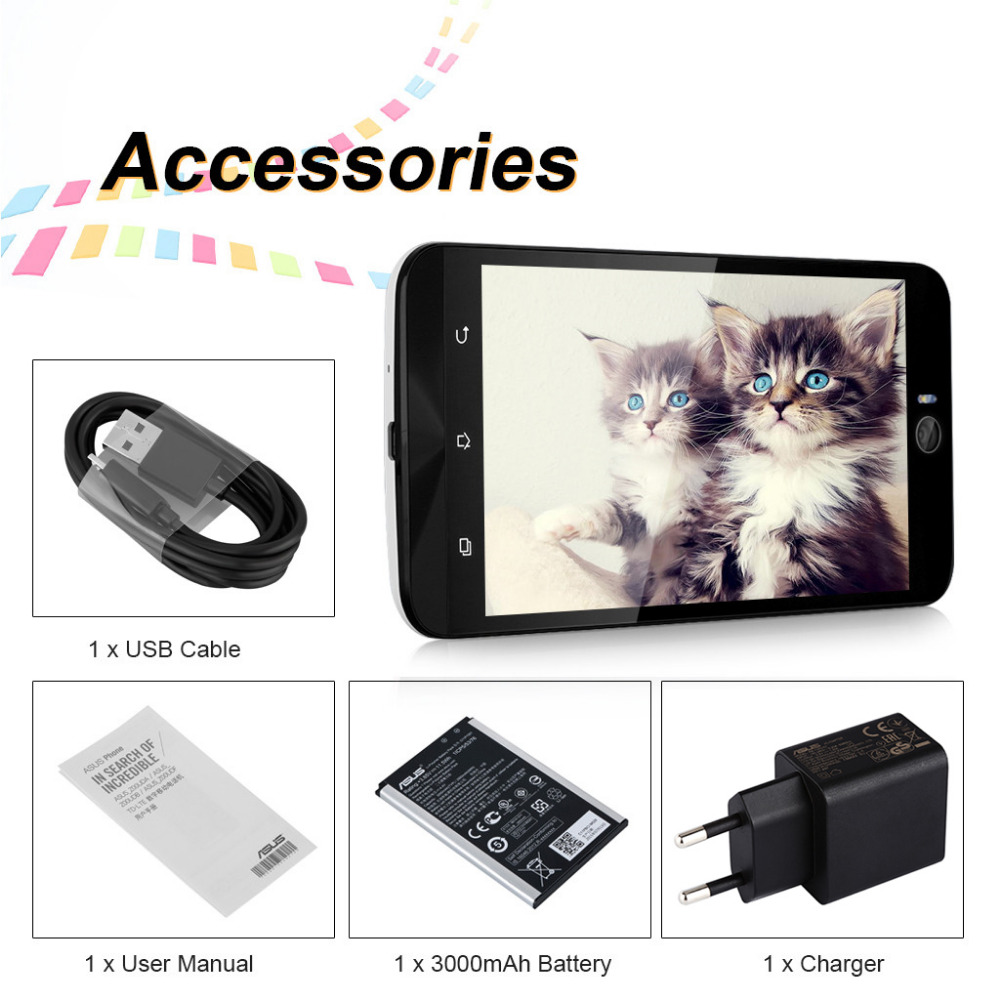Asus Zenfone Selfie Zd551kl Cellphone Android 50 Snapdragon Octa Usb Cable Wiring Diagram Core 3gb Ram 16gb Rom 4g Lte 130mp Camera 55 Mobile Phone In Phones From