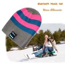 Ubit Men Women Outdoor Sport Wireless Bluetooth Earphone Stereo Magic Music Hat Smart Electronics Hat for iPhone SmartPhone