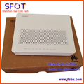 Huawei hg8240 f fio terminal de gpon hg8240f, ONU, 4 ethernet e 2 portas de voz, protocolo H.248 & SIP dupla, versão em inglês