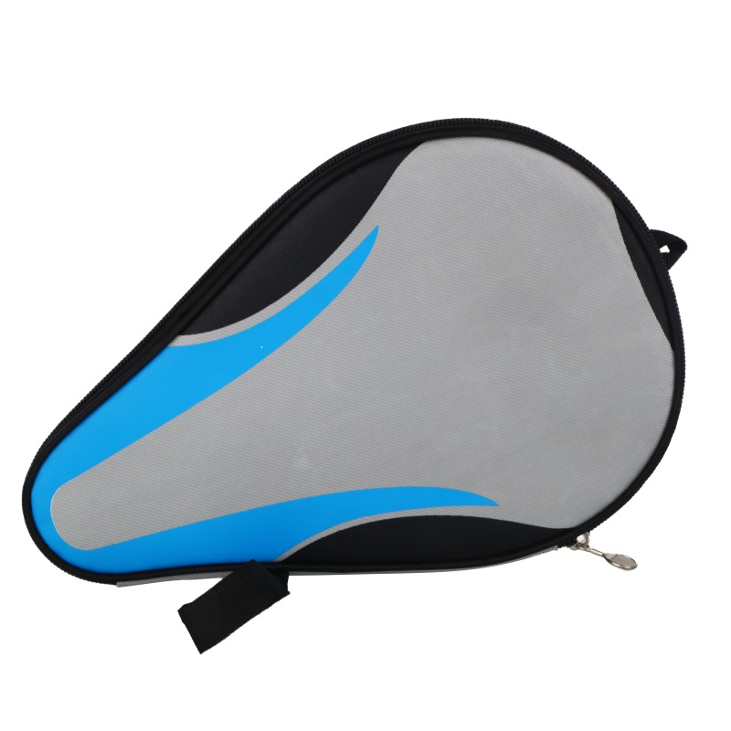 Table Tennis Racket Gourd Bag Waterproof Portable Table Tennis Racket Paddle Bat Bag Pouch With Ball Case