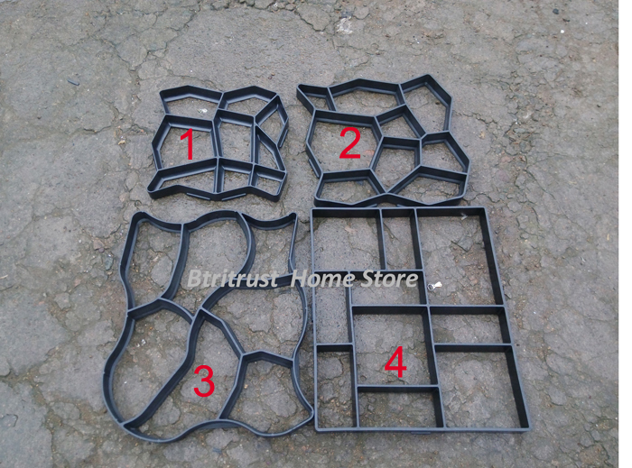 The No.3 New Path Pathmate Garden Walk Maker Mould the No.3 ...
