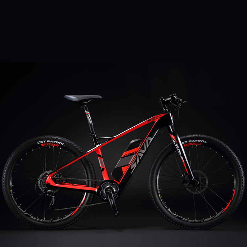 savad carbon fiber e bike 27 5 inch electric mountain bike. Black Bedroom Furniture Sets. Home Design Ideas