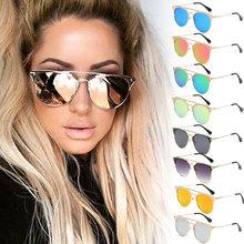 Outeye 2017 marque de mode designer cat eye femmes lunettes de soleil  gradient points lunettes de soleil hommes lunettes femmes . 08effa0aa02c