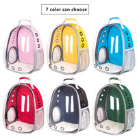 7 Color Cat Dog Space Capsule Pet Cat Dog Backpack Window for Kitty Puppy Small Cat Dog Carrier transport Outdoor Travel Bag