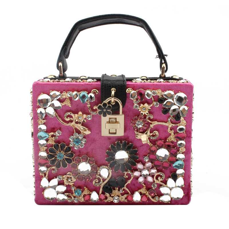 高品質女性のハンドバッグの高級ハンドバッグの女性のバッグデザイナー新ファッションウェディングパーティーレディースショルダーバッグボルサ Feminina  グループ上の スーツケース & バッグ からの トップハンドルバッグ の中 1