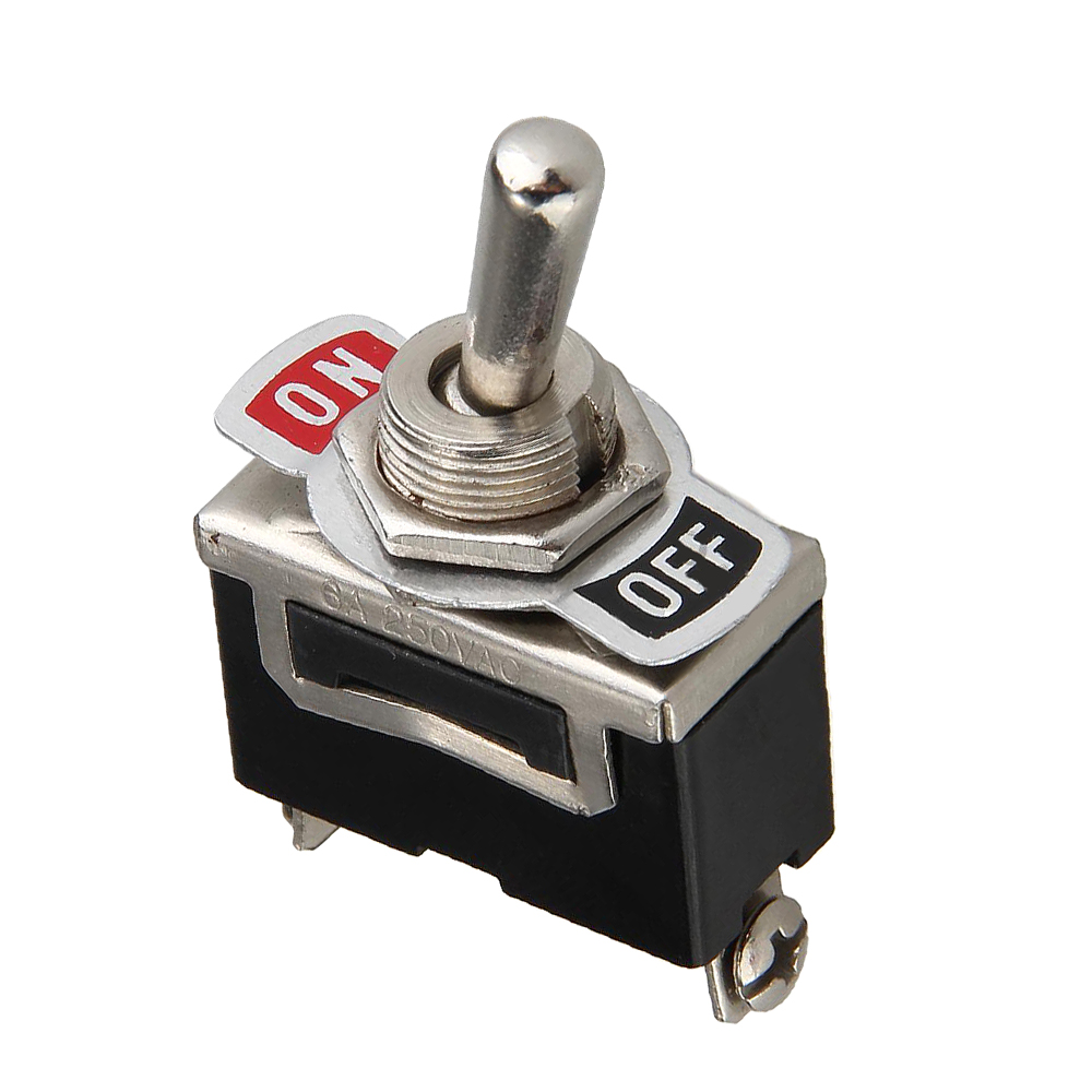 Generic Toggle Flick Switch ON OFF SPST Car Dash Light Dashboard Interior Parts 12V in Car Switches Relays from Automobiles Motorcycles