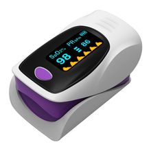 Medical Household Portable Digital Fingertip pulse Oximeter Blood Oxygen Saturation Meter Finger SPO2 PR Monitor CE