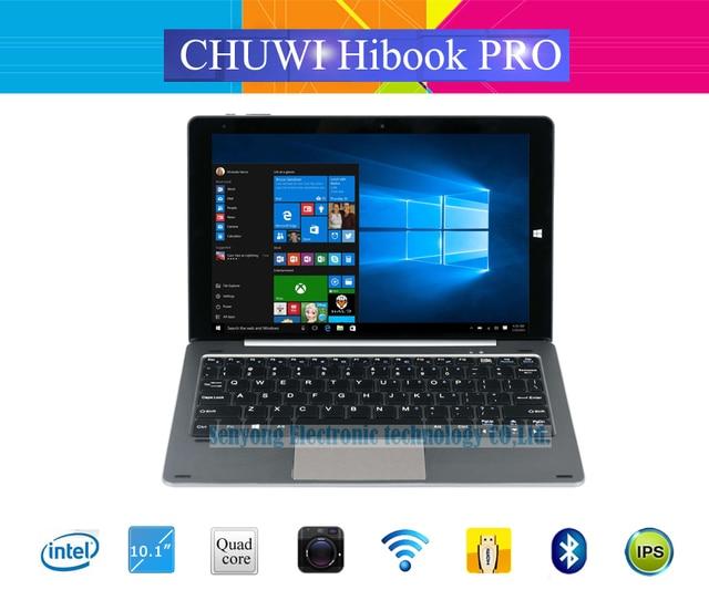 New Arrival 10.1'' OGS Chuwi HIbook Pro Windows10+Android 5.1 Dual OS Tablet PC 2560x1600 Intel Atom X5-Z8300 Quad Core 4GB/64GB