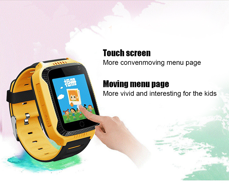 MOCRUX Q528 GPS Smart Watch With Camera Flashlight Baby Watch SOS Call Location Device Tracker for Kid Safe PK Q100 DZ09 Q18 (5)