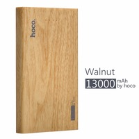 HOCO Practical Ultra Thin Power Bank Mobile Powerbank Universal Charger For Cellphone With Large Capacity 13000mAh