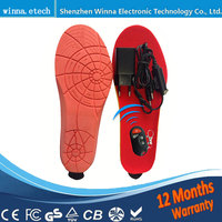 Electric Heating Insoles Foot Warmer Remote Control Buy Direct From China Factory 1800mAh