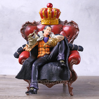 One Piece Anime P.O.P DL Shichibukai Sir Crocodile Big Sit on Sofa Ver. Boxed 26cm PVC Action Figure Model Doll Toys Gift