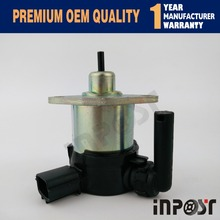 New Fuel shut off solenoid for Kubota 1C010-60015 1C010-60016 1C010-60017 - Free shipping