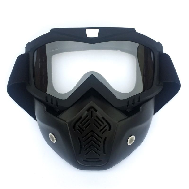 Good Quality New EXSPORT 2 Pcs Face Masks, Tactical Mask Motorcycle Compatible with Nref Blasters