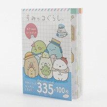 Стиль одна книга 335 шт наклейки мультфильм мобильный телефон оболочка diy ручная книга с отдельных страниц WJ01