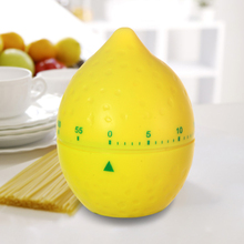 HS040 Kitchen timer High quality lemon 60 Minute Cooking Mechanical Home Decoration 6.3*6.3*8cm