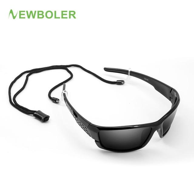 NEWBOLER Sunglasses Polarized Glasses For Fishing Men Women Driving Tourism Outdppr Sport Glasses Fishing Eyewear With Rope
