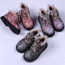 2016 Winter Children Shoes Warm Faux Fur Boys Girls Shoes Mid-Cut Footwear for Kids Children Sneakers New Winter Children Shoes