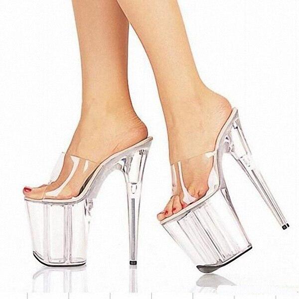 Popular Clear Platform High Heel Shoes-Buy Cheap Clear Platform ...
