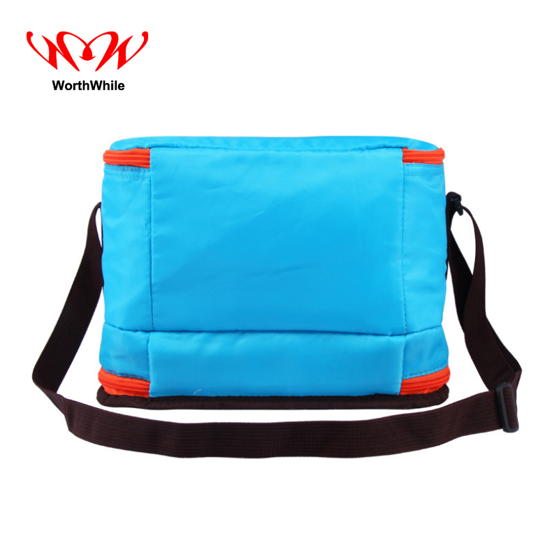 WorthWhile Camping Picnic Bag Foldable Thermal Basket Lunch Cooler Box Outdoor Hiking Kid Women Men Insulated Fresh Storage
