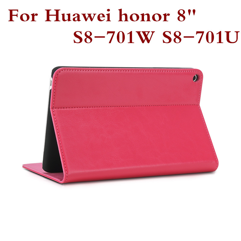 Fashion Leather Tablet PC Case Cover For 8 Huawei Honor S8-701W S8-701U With Stand Function Protective Shell 8 Inch + Gift