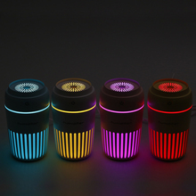 Colorful LED Night Light Ultrasonic Humidifier USB Air Purifier 300ML Mini Aroma Diffuser Mist Maker Fogger for Home Office Car 2016 new creative usb fan car air humidifier mini home office diffuser humidificador fan water mist maker fogger air purifier