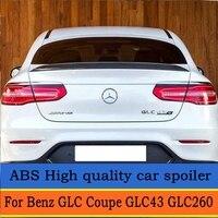 For Mercedes GLC Class Coupe GLC300 GLC250 2016 2018 spoiler For Benz GLC Coupe GLC43 GLC260 Spoiler ABS Car Rear Wing Spoiler