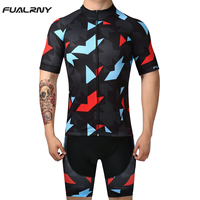 FUALRNY 2017 New Team Men Quick Dry Clothes Cycling Jersey Bike Set Pro Clothing Ropa Ciclismo Maillot