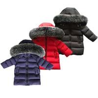 2017 Winter Mantel Jungen kleidung 2 10 jahre alt Unten Jacke Für Mädchen kleidung Kinder kleidung Oberbekleidung Winter Jacken mäntel-in Daunenjacken und Parkas aus Mutter und Kind bei