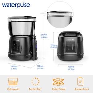 Image 3 - Waterpulse V700P 10 шт. струйные наконечники для воды 1000 мл емкость ирригатор для полости рта путешественник портативный стоматологический Oral Flosser