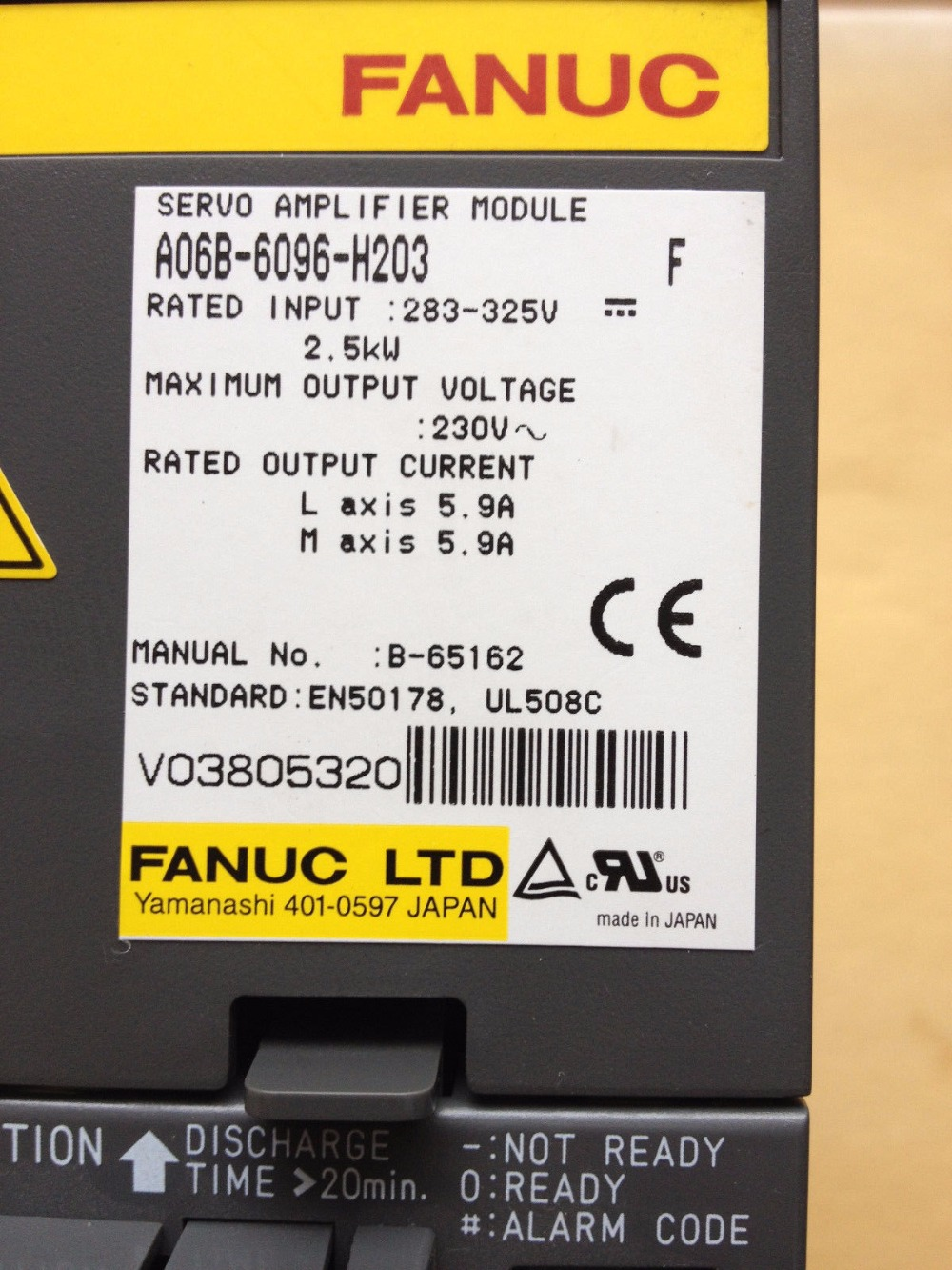 US $1002 26 |FANUC servo drive amplifier module A06B 6096 H203 for cnc  machine-in Motor Driver from Home Improvement on Aliexpress com | Alibaba  Group