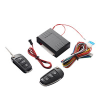 Universal Car Keyless Entry System Alarm Systems Auto Remote Central Kit Door Lock Central Locking Power