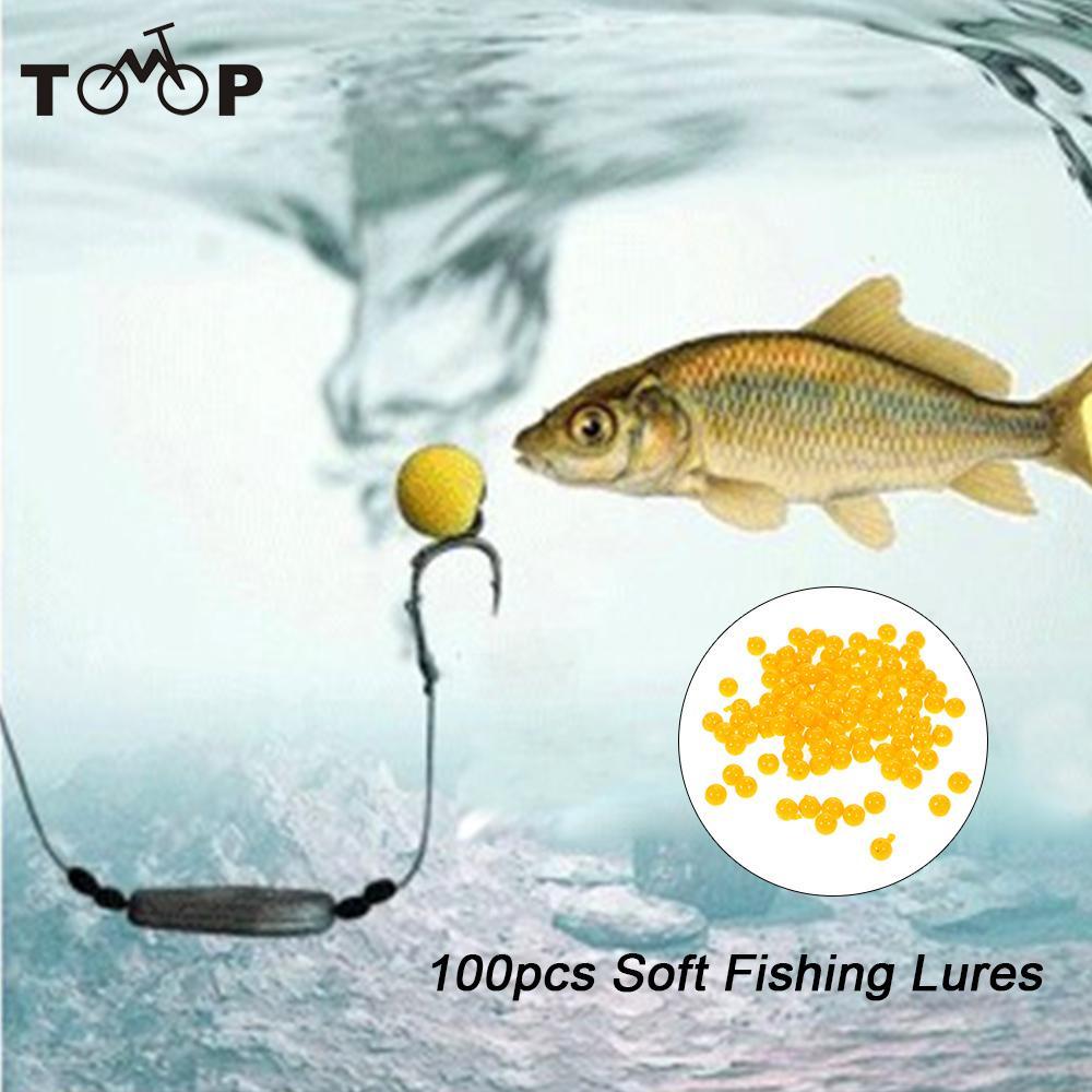 100pcs box carp bait floating fishing lure 10 8mm corn for Fishing for carp