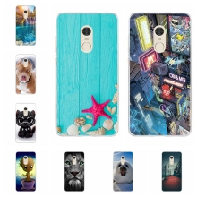 For Xiaomi Redmi Note 4X Case Ultra-thin Soft TPU Silicone Cover Sky Patterned Funda