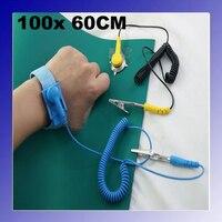 Anti Static ESD High Temperature Resistance Mat 60cm X 100cm Ground Wire ESD Wrist