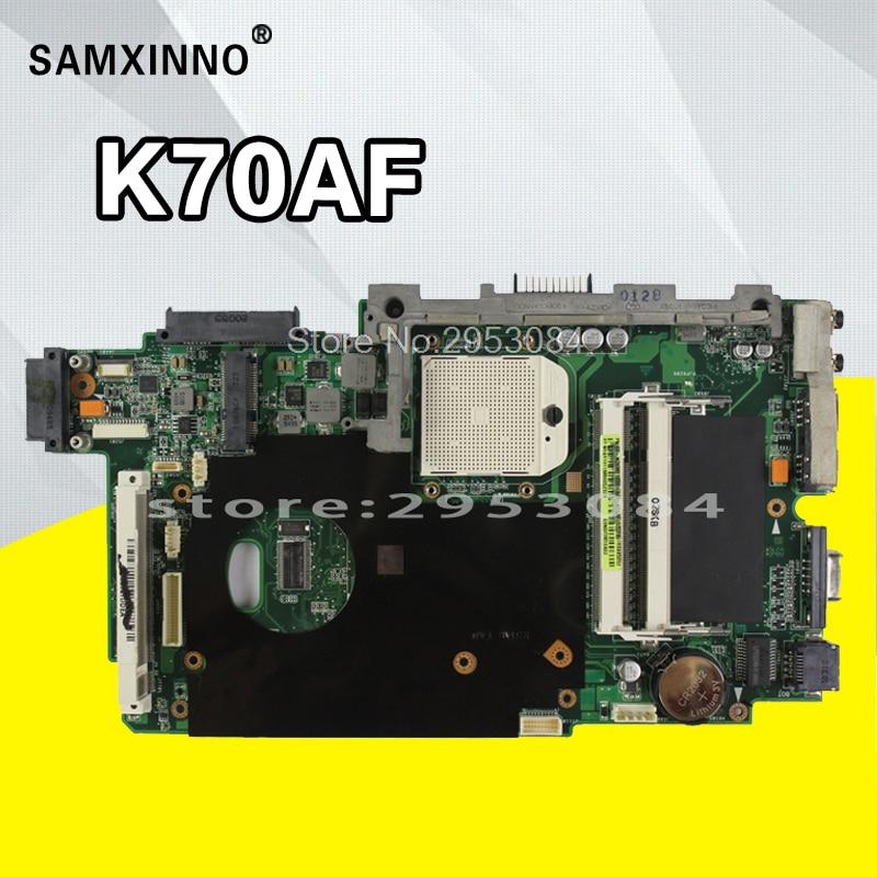 K70AF материнских плат REV: 2,3 512 М для ASUS k70ac K51AB K70AB K70AD Материнская плата ноутбука K70AF плата K70AF материнской Тесты 100% ok
