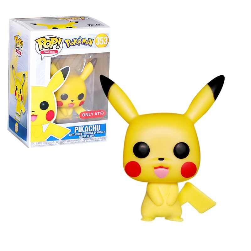 FUNKO POP New Arrival Cartoon Cute Pikachu Vinyl Action Figures Collectible Model Toys for Children Birthday gift
