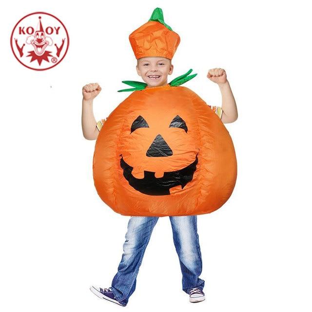 Halloween Aufblasbare Kostum Kinder Kurbis Outfit Kleidung Fur 3 Bis