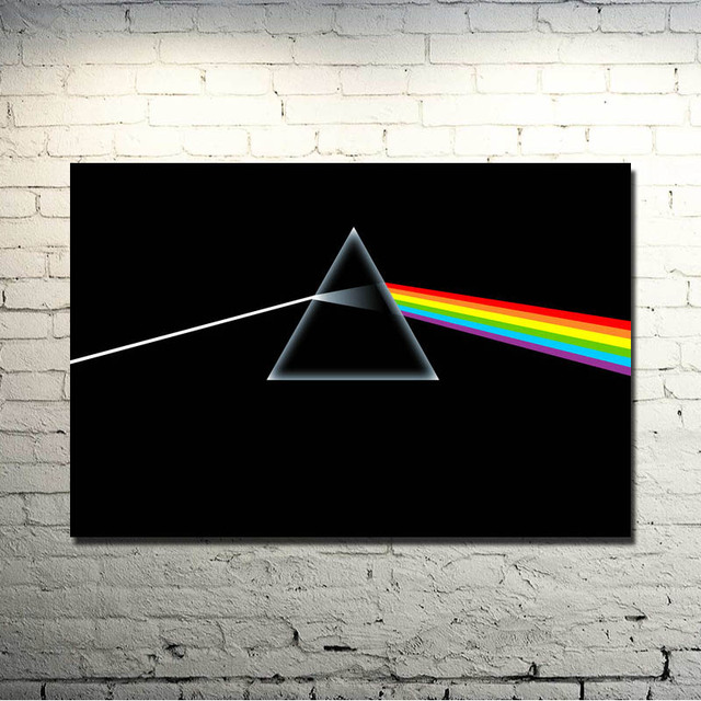 Pink Floyd Classic Rock Music Band Art Silk Poster Print 13×20 24x36Inches Wall Pictures For Bedroom Living Room Decor 005