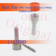 Bocal l163pbd l163pba l163pba da injeção de orltl e bocal de combustível l 163 pbd, l 163 pba, l 163 prd para jmc ejbr03301d euro 3