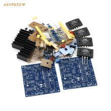 2PCS MX50 SE LAPT 2SA1295 2SC3264 Power amplifier DIY kit Dual Channel power amp