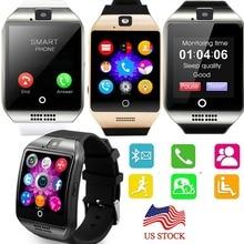 Pantalla Táctil Bluetooth Elegante Reloj de pulsera Teléfono NFC Para Android Samsung S8 S7 Motorola Z LG G5 HTC Huawei Lenovo iPhone 7 Plus