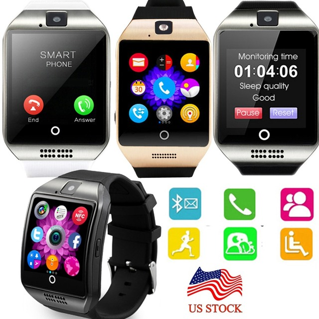 dd194a1f9 NFC pantalla táctil de Bluetooth inteligente reloj de pulsera teléfono  Android Samsung S8 S7 Motorola Z