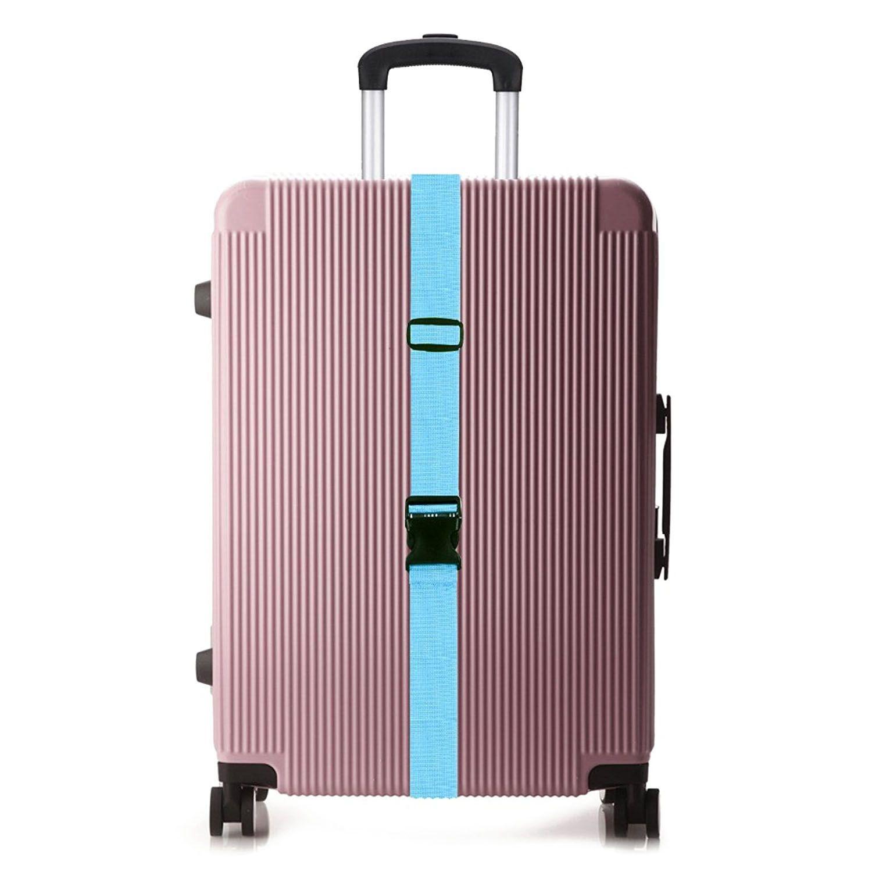 Fggs-gepäck Riemen Koffer Gürtel Reisetasche Zubehör 2 Paket Rot Mit Dem Besten Service Mutter & Kinder