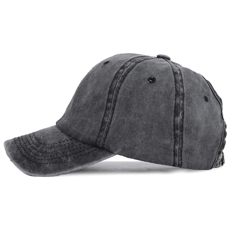 2019 Ponytail Baseball Cap Hip Hop Cotton Solid Dad Hat Casual Fitted Messy Bun Sun Hats