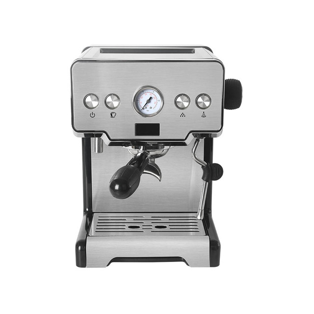 Commercial Electric Coffee Machine Espresso Coffee Maker with Milk Foaming Semi-automatic Italian Latte Coffee Office