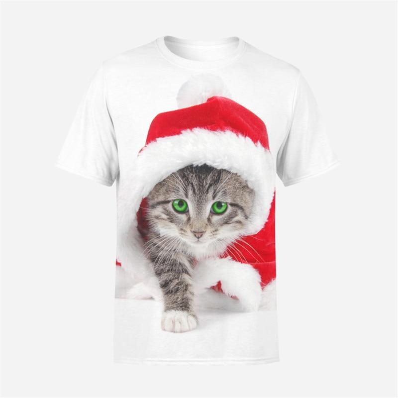 2018 Fashion The latest design Cats T-shirt MenWomen 3d Print Meow Star Cat Hip Hop Cartoon T-Shirts Summer Tops Tees Fashion