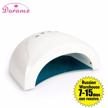 Hot Nail Dryer Dorame S1 24W To 48W UV Lamp Led Nail Lamp Fast Drying For Gel Polish Curing Lamp For Nails Dryers Nail Art Tools