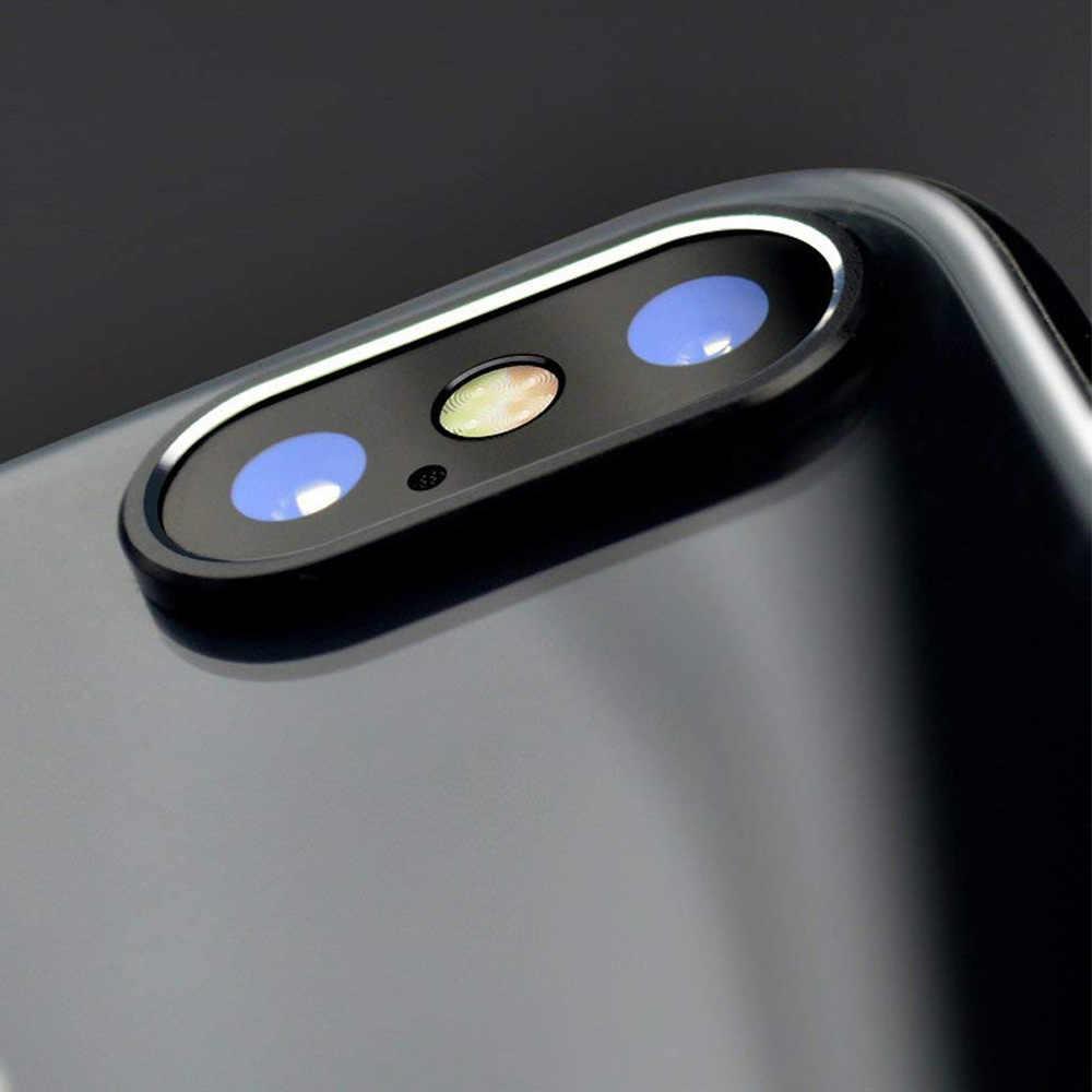 Ascromy كاميرا حامي عدسة ل أبل فون XS ماكس XR X 10 8 7 6 6S زائد المعادن كاميرا خلفية الدائري الحرس حالة غطاء اكسسوارات